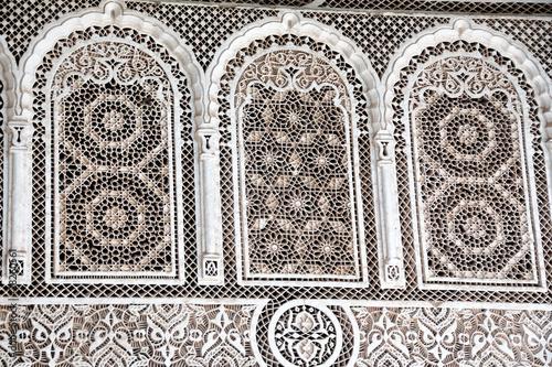Fotografie, Obraz  Arte islamica - Palazzo a Marrakech Marocco