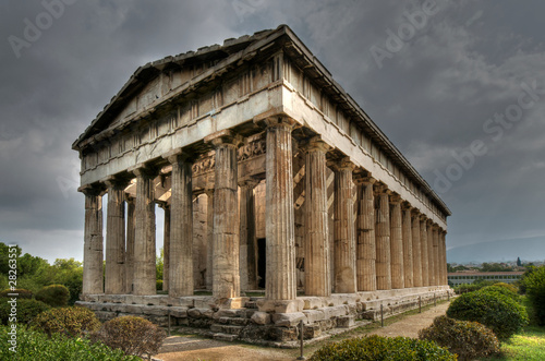 Ancient Temple of Hephaistos, Athens фототапет