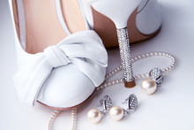 Wedding Shoes And Costume Jewellery.