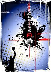 Fototapeta Do pokoju chłopca dirty basketball poster
