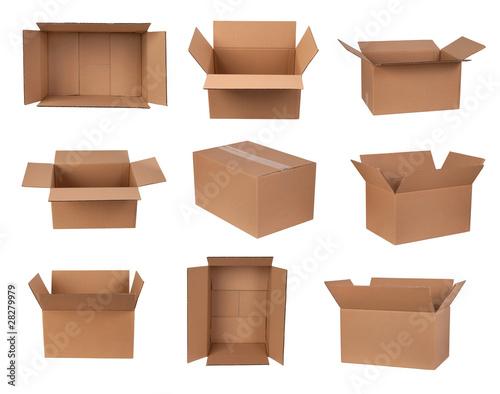 Fotografía  Cardboard boxes