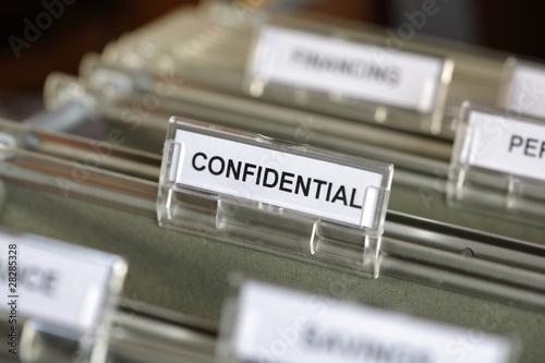 Fotografía  Confidential file