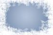Leinwanddruck Bild - natürliche Eiskristalle