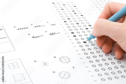 Fotografía IQ test