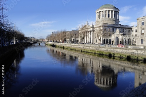 The Four Courts - Dublin, Ireland (Irland) Poster
