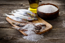 Sardines With Salt - Sardine S...
