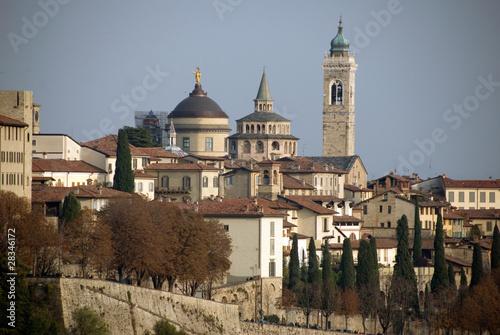 Photo  Veduta di Bergamo Alta