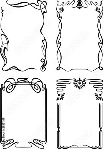 Fotografía  Vertical frames