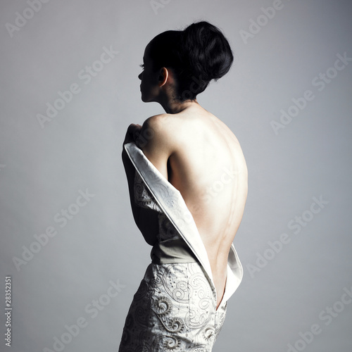 Fototapeta Undress elegant woman