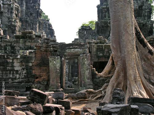 Kambodscha, Angkor Tempel Poster