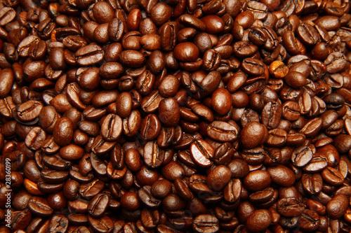 In de dag Koffiebonen caffè