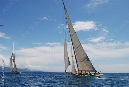 Keuken foto achterwand Schip yacht persuit