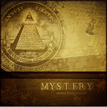 Mystery Background With All-se...