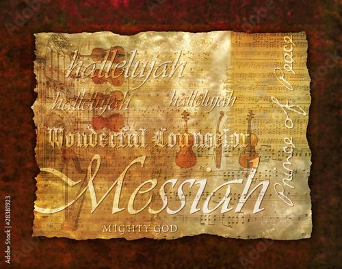 Fotografie, Obraz  Messiah Montage Background