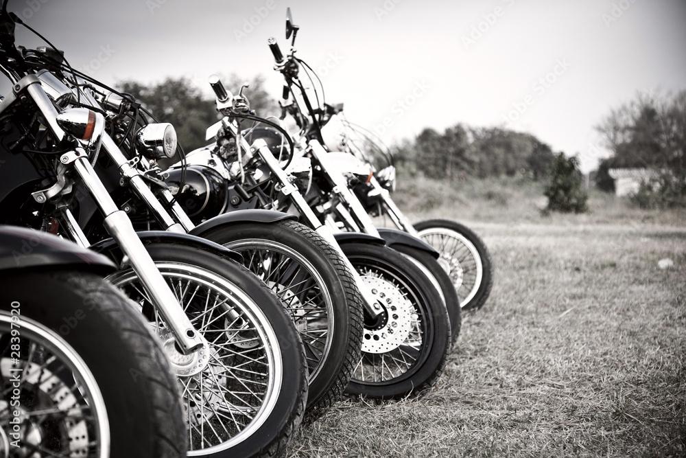 Fototapeta Bikes