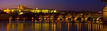 Evening Panorama Of Prague