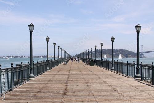 Obrazy San Francisco  holzener-steg-w-san-francisco