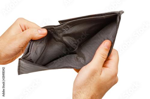Fotografía  empty wallet