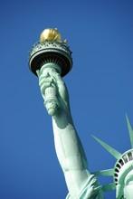 Bras à La Flamme De La Statue De La Liberté