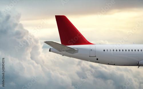 Türaufkleber Flugzeug Speed