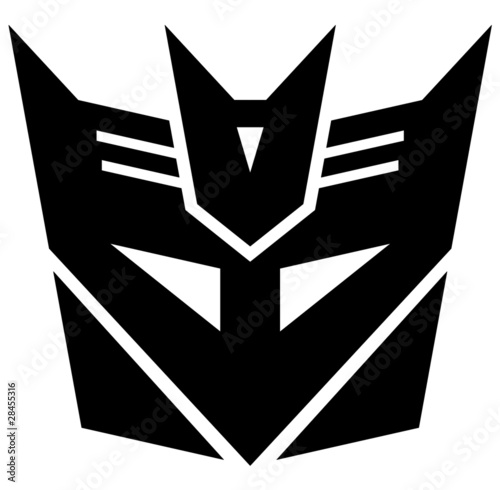 Photographie Transformers. Desepticon emblem