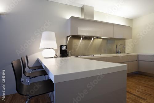 interno di cucina moderna – kaufen Sie dieses Foto und ...