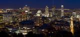 Fototapeta Nowy Jork - Montreal skyline at night, Canada