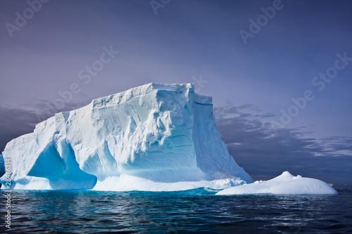 Poster Glaciers Antarctic iceberg