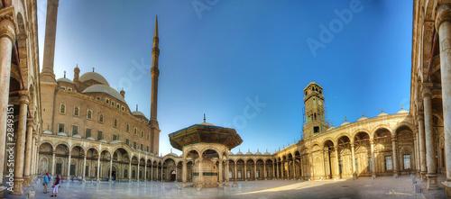 Tuinposter Egypte Alabaster Moschee in Kairo