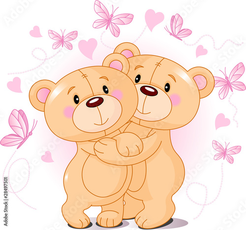 Teddy bears in love #28497501
