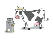 La Vache Et Le Lait