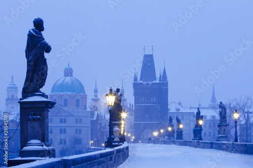 Printed kitchen splashbacks Prague prague charles bridge