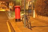 Fototapeta Londyn - skrzynka na listy