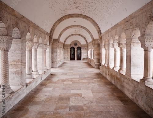 Fotografie, Obraz  Stone Corridor