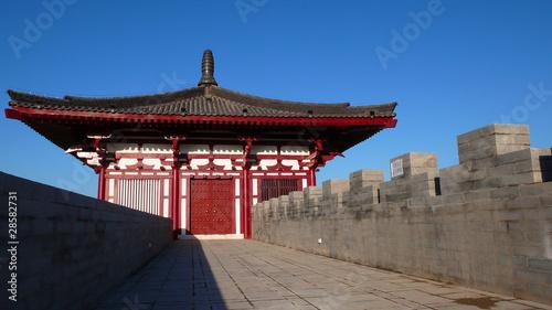Foto op Plexiglas Xian City Wall of Xian,China
