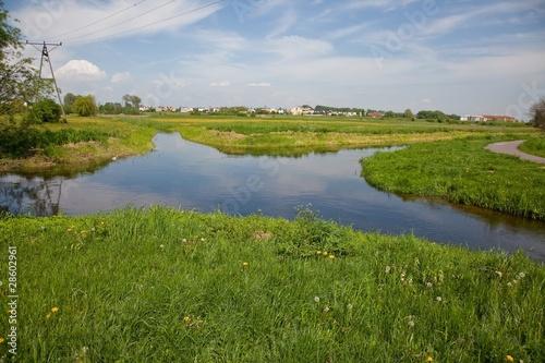 Valokuva  River bifurcation