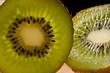 kiwi coupé en tranche