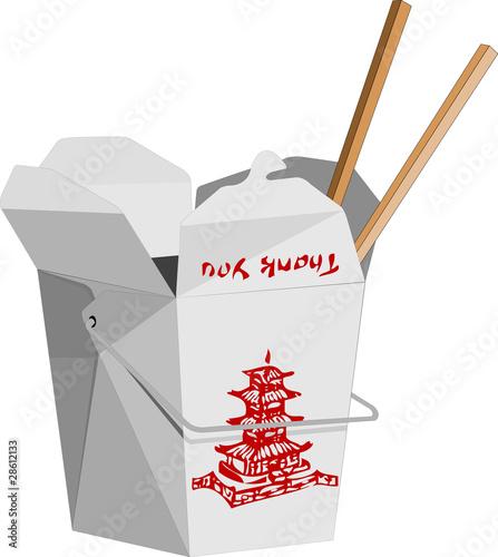 Photo  Chinese To-Go Box