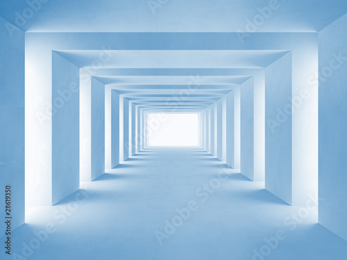 blue-tunnel
