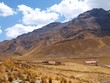 Sacred valley in high mountain, Peru