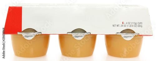 Applesauce Cups Canvas Print