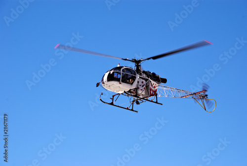 Staande foto Helicopter