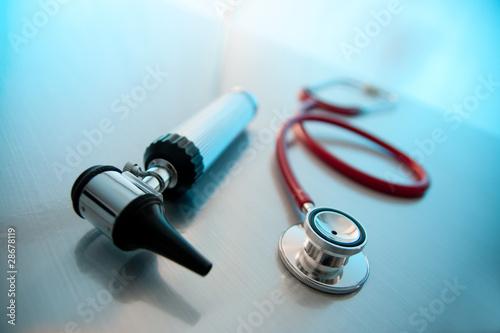 Photo Stethoscope/Otoscope