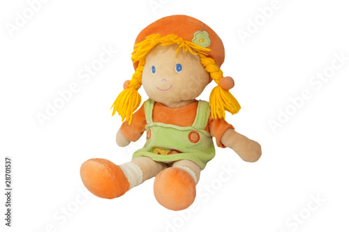 Photographie  plush doll