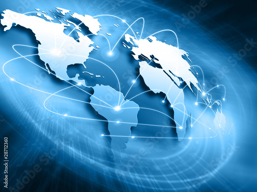 Best Internet Concept of global business from concepts series #28712360