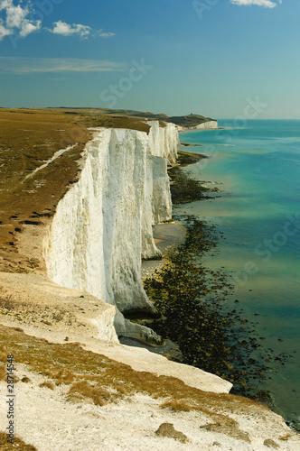 Fotografie, Obraz  Seven Sisters white cliffs in England