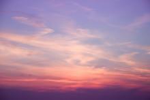 Evening Clouds Sunrise