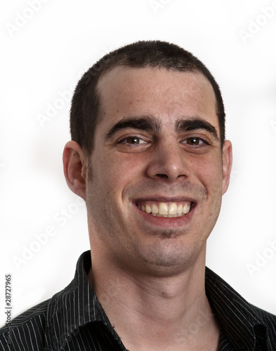 Homme Souriant jeune homme souriant - buy this stock photo and explore similar