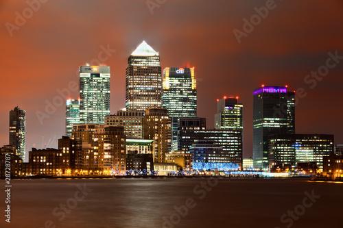 Photo  Canary Wharf London
