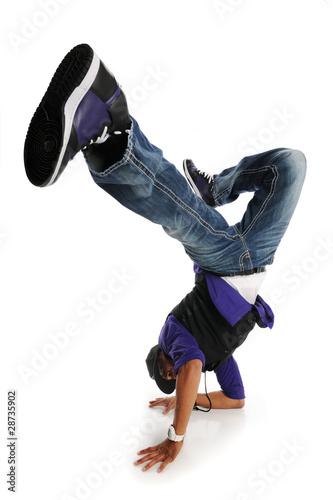 Fotografie, Obraz  Hip Hop Style Dancer performing